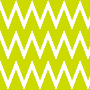 Tall Chevron Lime