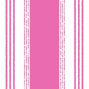 French Ticking in framboise