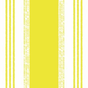 French Ticking in citron