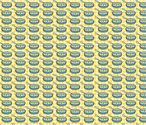 Sunny Side up fabric by thirdhalfstudios on Spoonflower - custom fabric