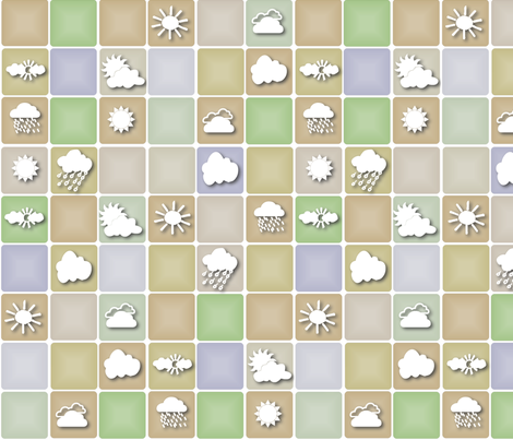 Shadowed weather fabric by wiccked on Spoonflower - custom fabric