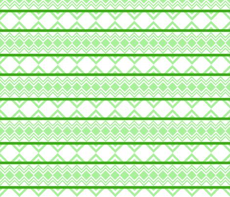 GreenChevron7 fabric by oceanpeg on Spoonflower - custom fabric