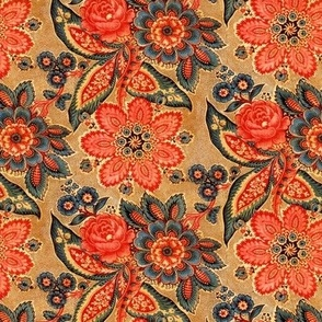 Traditional Spanish Floral