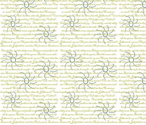 jabberwocky fabric by meigheyburn on Spoonflower - custom fabric