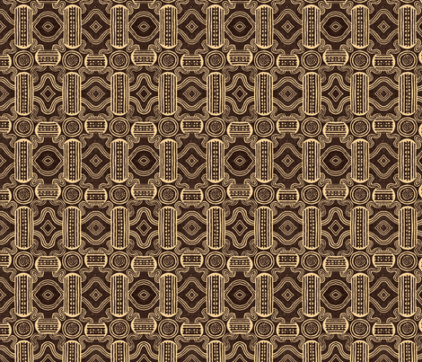 Mudcloth patterns fabric by unseen_gallery_fabrics on Spoonflower - custom fabric