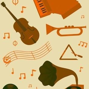 Musical Tangerine