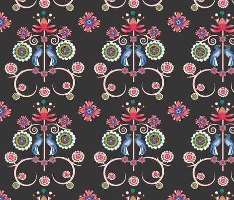 art_deco_print fabric by maribel on Spoonflower - custom fabric
