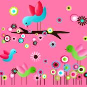 Pretty Little Birdie in Pink