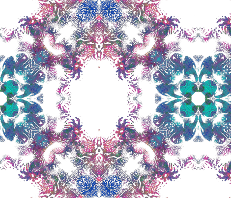 Life II fabric by feebeedee on Spoonflower - custom fabric