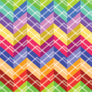 Zigzag Cheater Quilt