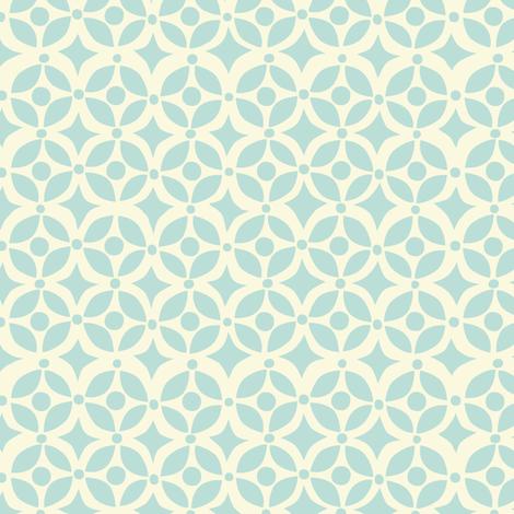 NESTING GEOMETRIC  BLUE fabric by bethany@bzbdesigner_com on Spoonflower - custom fabric
