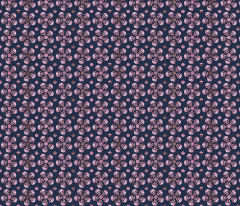 skullflowersanddots fabric by creative_cat on Spoonflower - custom fabric