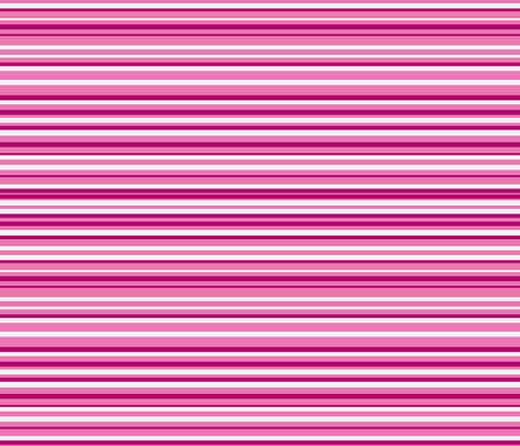 stripe carlos pink monochrome brown fabric by anino on Spoonflower - custom fabric