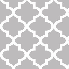 Quatrefoil Chinchilla