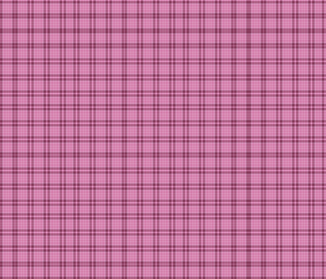 Rose_oval_box plaid fabric by anino on Spoonflower - custom fabric