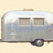 Bambi II Airstream trailer