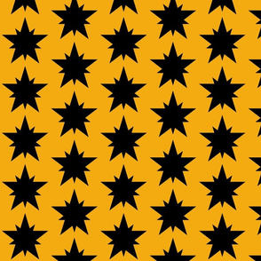 Black_Star_gold_back_ground