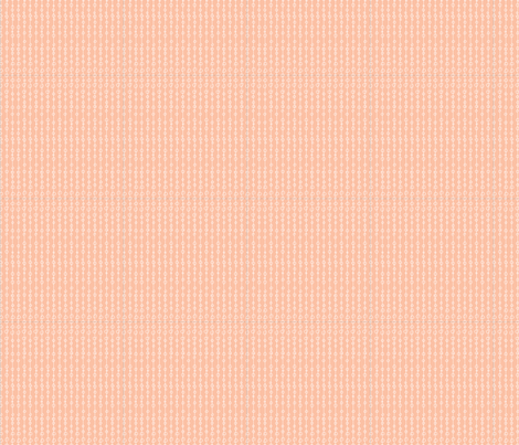 Peach Chain fabric by cleverbetty on Spoonflower - custom fabric