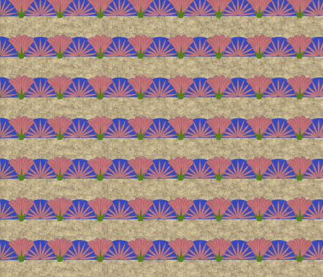Belladona_strip fabric by kirpa on Spoonflower - custom fabric