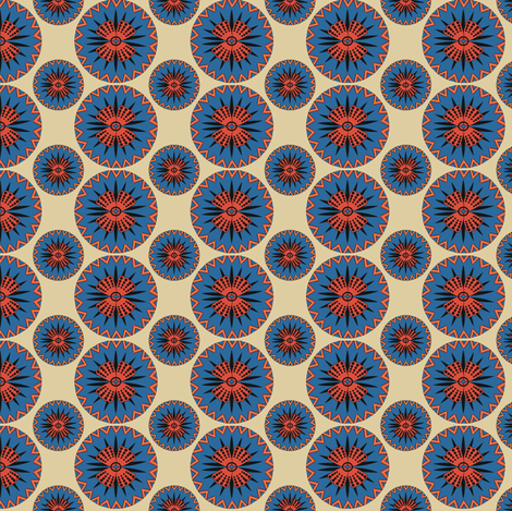 Poppy fabric by kirpa on Spoonflower - custom fabric