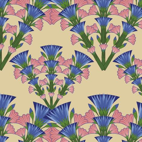 cornflower_y_belladona fabric by kirpa on Spoonflower - custom fabric