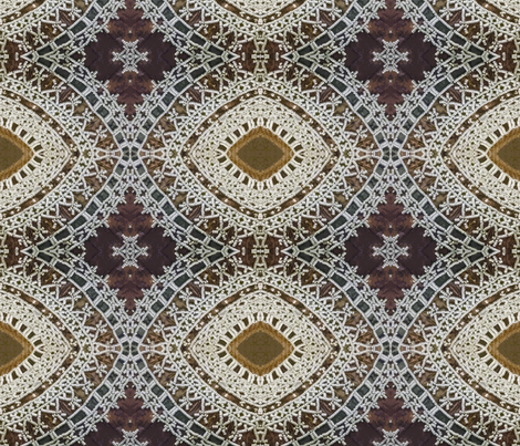 Beaded Basketry fabric by susaninparis on Spoonflower - custom fabric