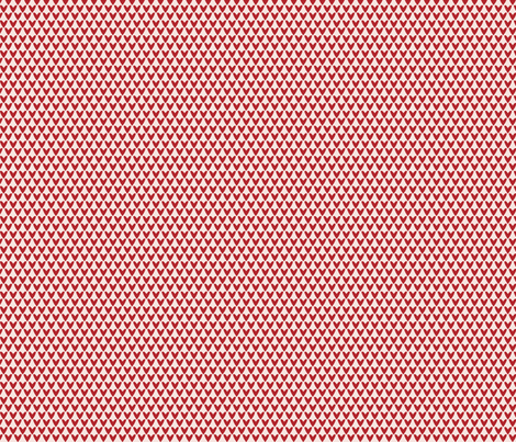 Red Love Hearts fabric by marcelinesmith on Spoonflower - custom fabric