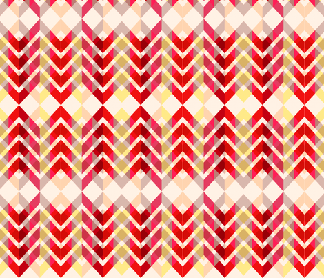 ZigZag fabric by richdesigns on Spoonflower - custom fabric
