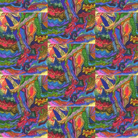 Woodstock_dreams_2 fabric by purple_robin on Spoonflower - custom fabric