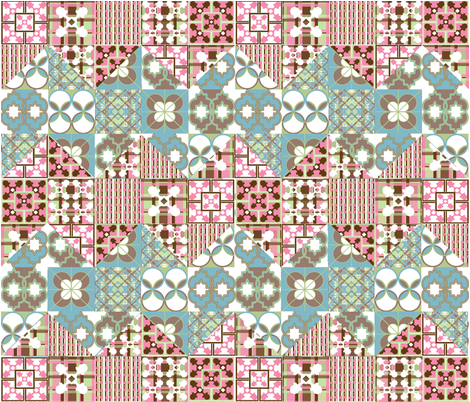ZigZagCheaterQuilt fabric by shirlee_y on Spoonflower - custom fabric