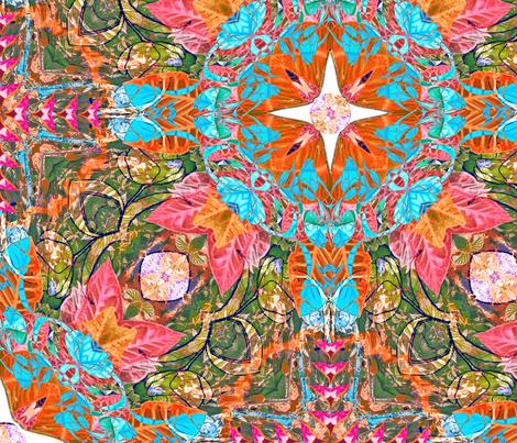 Chinese Garden II fabric by dana_zurzolo on Spoonflower - custom fabric
