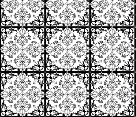 Ironwork fabric by dana_zurzolo on Spoonflower - custom fabric
