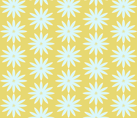 Dahlia- Citrus fabric by allisajacobs on Spoonflower - custom fabric