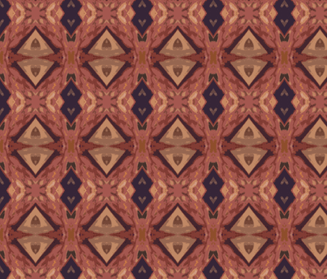 Painted Dessert - small fabric by susaninparis on Spoonflower - custom fabric