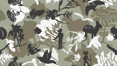 Nature Icons Camouflage