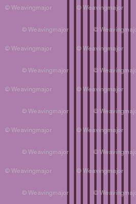 twilight stripes - mauve