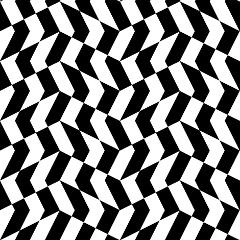 mini chevron checkerboard fabric by weavingmajor on Spoonflower - custom fabric