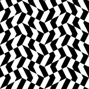 mini chevron checkerboard