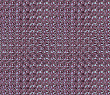 Cachemire 1 MARYLIN fabric by manureva on Spoonflower - custom fabric