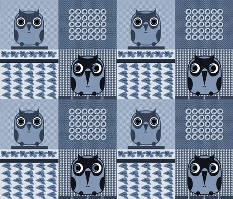 owls 1 fabric by isabella_asratyan on Spoonflower - custom fabric