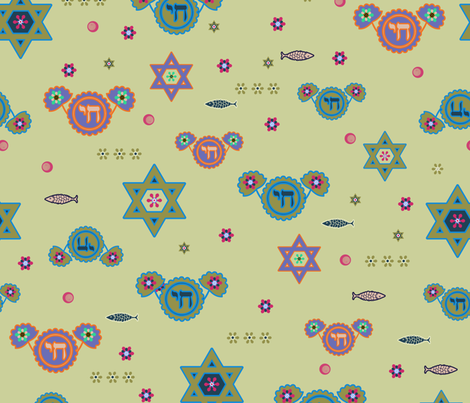 playing with symbols fabric by isabella_asratyan on Spoonflower - custom fabric
