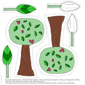 Tiny Tree Hugger - swatch kit