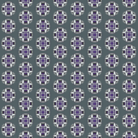 Plum Geometric Dot © Gingezel™ 2013 fabric by gingezel on Spoonflower - custom fabric