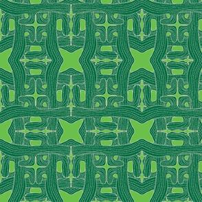 cactus cactus green on green