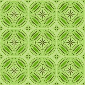 Moroccan Tiles (Yellow/Green)