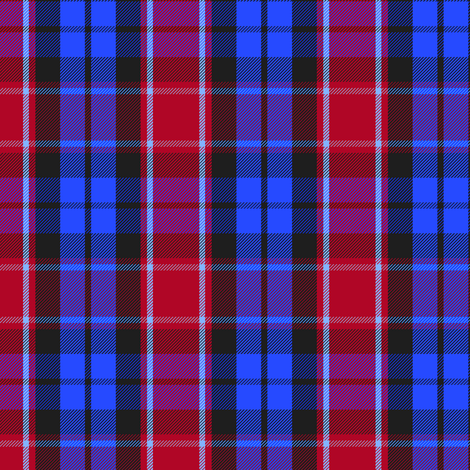 Graham of Menteith tartan (red variation, modern colors) fabric by weavingmajor on Spoonflower - custom fabric
