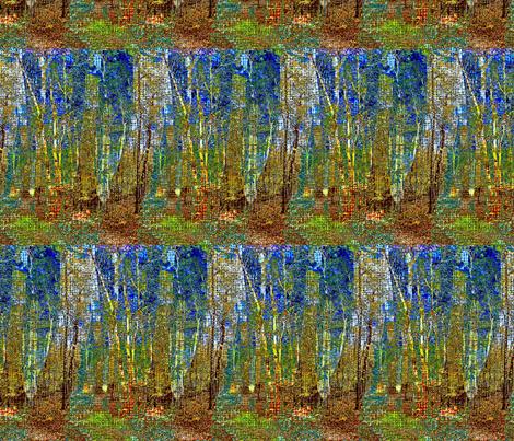 linen forest fabric by keweenawchris on Spoonflower - custom fabric