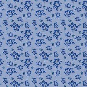 Hibiscus (Blue/Violet)