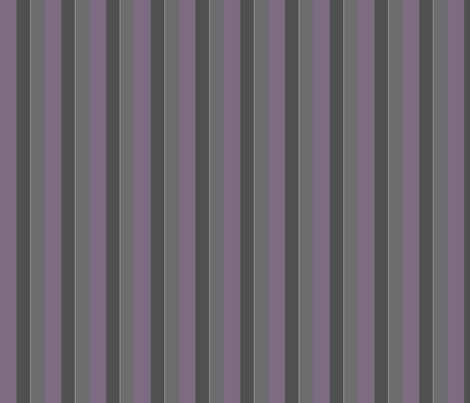 Plum and Gray Stripe © Gingezel™ 2012 fabric by gingezel on Spoonflower - custom fabric