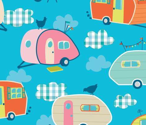 Chikki Camp fabric by abby_zweifel on Spoonflower - custom fabric